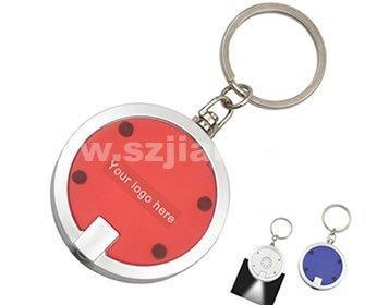 Quality Promotion Flashlight Keychain with Logo Printed (4052) for sale