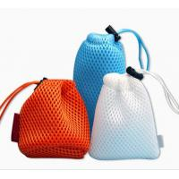 Buy cheap China Manufacture Supply Drawstring Gift Packing Mesh Pouch Customized Logo Mesh Bag from wholesalers