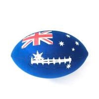 Buy cheap Good Branded Heavy Flag Australia Rugby Balls from wholesalers