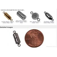 Buy cheap magnetic clasp Cylinder Shaped - Magnetic Jewelry Clasps - Gold from wholesalers
