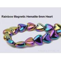 Buy cheap magnetic bead Rainbow Magnetic Hematite beads from wholesalers