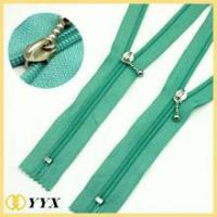 Buy cheap High quality custom cheap nylon coil zipper with o/e or c/e from wholesalers