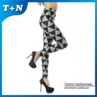 Buy cheap Polyester spandex leggings printed leggings for women from wholesalers