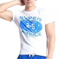 Buy cheap custom design casual style men's printed t-shirts from wholesalers