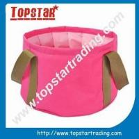Buy cheap high quality folding bucket from wholesalers