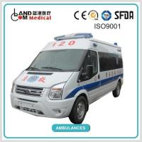 TypeⅡ4 2 / 2WD Left Hand Drive / LHD Ford Middle Roof Diesel Van Type Ambulance