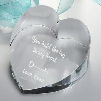 Buy cheap Engraved Glass Gifts Paperweight from wholesalers