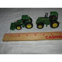 Buy cheap Lot of 2 Ertl John Deere Front end Loader and Tractor Collect and Play New product