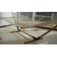 Buy cheap white cotton rope /netting hammock from wholesalers