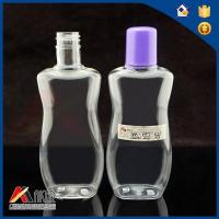 Buy cheap Polyethylene Terephthalate Small Shampoo Lotion Plastic Bottles With Lid from wholesalers