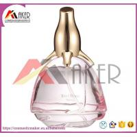 Buy cheap Crystal Rose Glass Perfume Bottle Cadeau De Dame from wholesalers