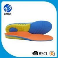 Half length leather orthopedic insoles