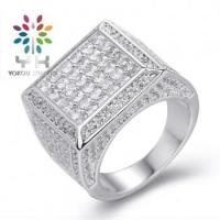 Buy cheap Micro Pave Setting Wedding Rings For Men from wholesalers