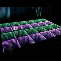 Buy cheap Wedding Decorations Light Up Interactive Starlit Used 3D DJ LED Dance Floor for Sale from wholesalers