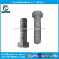 Buy cheap China Suppliers ASTM A325 High Strength Heavy Hex Structural Bolt from wholesalers