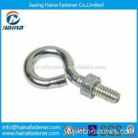 Buy cheap Stainless steel hook bolt long stub eye bolt with nut product
