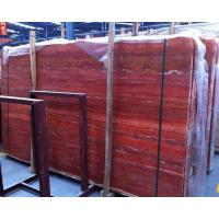China Imported Iran red travertine stone for flooring tiles on sale