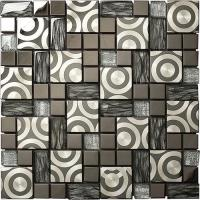 Buy cheap mixed metal mosaic tiles from wholesalers