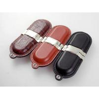 Buy cheap Lipsticks leather USB drive with thread edge, leather USB drive with more design, more stitches from wholesalers