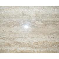 Buy cheap Italian silver grey travertine marble flooring tiles from wholesalers