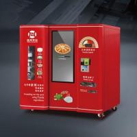 Buy cheap LED advertising screen pizza vending machine from wholesalers