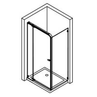 Buy cheap Shower Enclosure(with Hinged Shower Door) from wholesalers