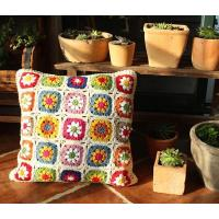 Buy cheap Hand crochet cushion covers/seat cover/pouf from wholesalers