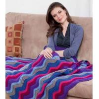Buy cheap Hand crochet ripple blankets from wholesalers
