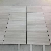 Buy cheap China Indoor White Wood Marble Floor Tile and Table from wholesalers