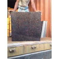 Buy cheap Tan Brown Outdoor Stone Steps Risers Granite Stairs Granite Anti-slip Stairs Tile from wholesalers