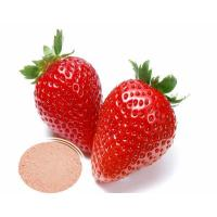 Buy cheap Factory supply 100% pure natural Strawberry powder from wholesalers