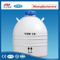 Buy cheap 6L Liquid Nitrogen Cryogenic Tank/canister/dewar Tank For Ice Cream Making from wholesalers