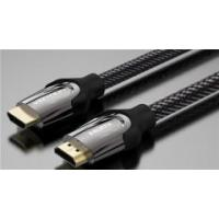 Buy cheap Braid hdmi cable 4k 3D male to male 50/60FPS 18Gbps with ethernet from wholesalers