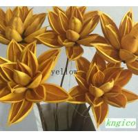 Buy cheap DF049 Dried sunflower with stem decoraton flower product