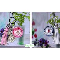 Buy cheap PW001 Preserved flower key bag pendant birthday gift from Wholesalers