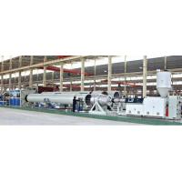 Buy cheap HDPE PE WATER PIPE MAKING MACHINE from wholesalers