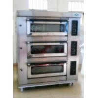 Buy cheap Hot sale 3 decks 6 trays gas oven from wholesalers