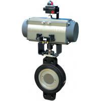 Buy cheap Three eccentric butterfly valve from wholesalers
