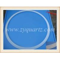 Buy cheap Quartz-Ring Name:H7003 large diameter opaque quartz glass rings from wholesalers