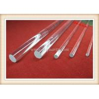 Buy cheap Quartz-Rod Name:R4001 Quartz rod / quartz glass rod from wholesalers