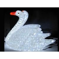 Buy cheap Christmas Decoration 3d Motif Light Led Swan lighting from wholesalers