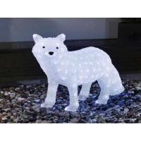 Buy cheap 3d acrylic fox christmas led motif light from wholesalers