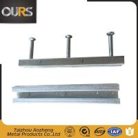 Buy cheap Galvanized Fixed Embedded Plate And Anchor Hilti Channel from wholesalers