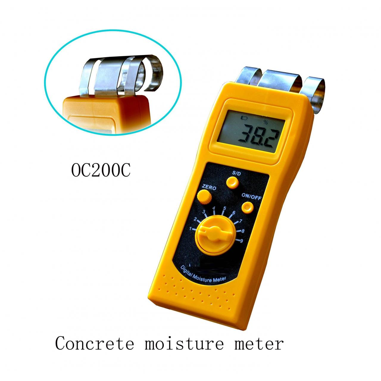Buy cheap Concrete moisture meter OC-200C from wholesalers