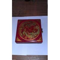 Buy cheap Chinese tibet charm rare dragon phoenix ''Feng shui''compass with wooden box from wholesalers