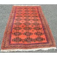 Buy cheap GOOD SEMI ANTIQUE AFGHAN BESHIR MEMLING GUL LARGE RUG from wholesalers