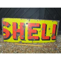 Buy cheap Original old / Antique 'Shell ' Enamel sign - Enamel SHELL Petrol sign.109 cm from wholesalers