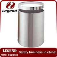 Buy cheap Small size waste bin trash can with ring for sale from wholesalers