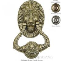 Buy cheap Brass Accents - 6-1/4 Lion Door Knocker from wholesalers