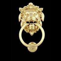 Buy cheap Lion Head Brass Door Knocker from wholesalers
